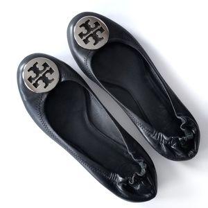 Tory Burch | Classic Leather Reva Ballet Flats